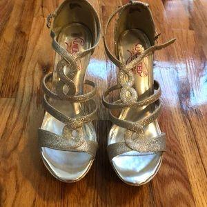 Unlisted Silver Stilettos